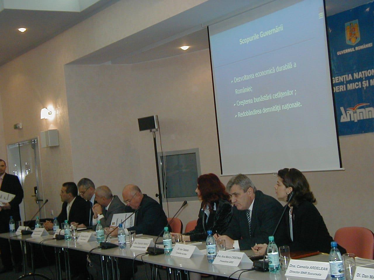 Lansarea Oficiului Teritorial pentru Întreprinderi Mici şi Mijlocii şi Cooperaţie Constanţa
