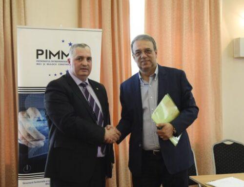 Preşedintele Patronatului IMM, consilier onorific al Primarului Constanţei