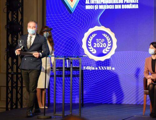 """Waterboyz România, premiul special pentru implicarea în infrastructura educaţională în cadrul """"Topului Naţional al Firmelor Private"""""""
