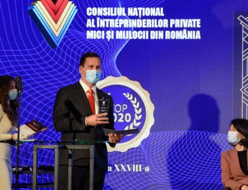 Virgil Pruteanu a primit premiul pentru inovații în sănătate din partea CNIPMMR