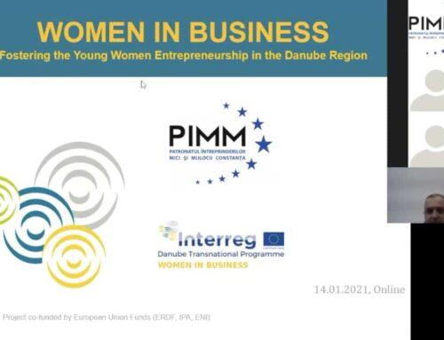 """Newsletter """"WOMEN IN BUSINESS"""" – APRILIE 2021"""
