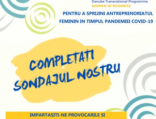 Sondaj: Nevoile şi aşteptările antreprenoarelor în pandemia Covid -19